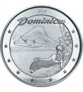 Срібна монета 1oz Домініка 2 долари 2018 Східні Кариби