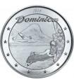 Серебряная монета 1oz Доминика 2 доллара 2018 Восточные Карибы