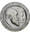 Серебряная монета 3 марки 1911 Вюртемберг Германская империя