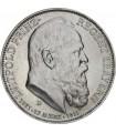 """Серебряная монета """"90 лет со дня рождения Луитпольда Баварского"""" 3 марки 1911 Бавария Германская империя"""
