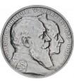 Серебряная монета 5 марок 1906 Баден Германская империя
