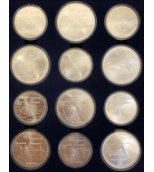 Серебряная монета 1oz Американский Орел 1 доллар 2020 США
