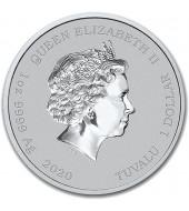 Серебряная монета 1oz Ноев Ковчег 500 драм 2015 Армения
