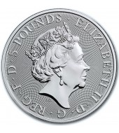 Серебряная монета 1oz Слон 5000 франков КФА 2019 Чад