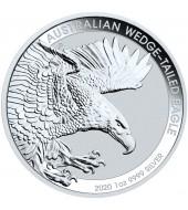 Срібна монета 1oz Клинохвостий Орел 1 долар 2020 Австралія