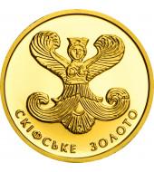 Золота монета 1/25oz Скіфське Золото Богиня Апі 2 гривні 2008 Україна