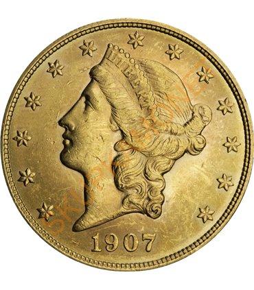 Золотая монета Один Червонец Сеятель 1923 РСФСР