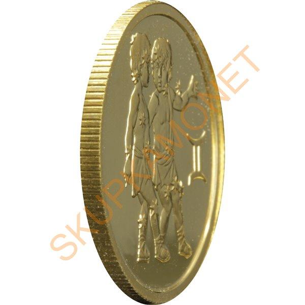 Серебряная монета Год Коня 5 гривен 2014 Украина