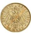 Золота монета 10 рублів 1911 р. Микола 2 Росія