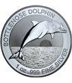 Серебряная монета 1oz Бутылконосый Дельфин 1 доллар 2019 Австралия
