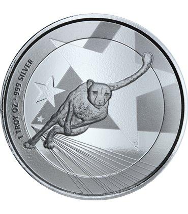 Срібна монета Рік Кози 5 гривень 2015 Україна