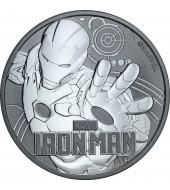 Срібна монета 1oz Залізна Людина 1 долар 2018 Тувалу