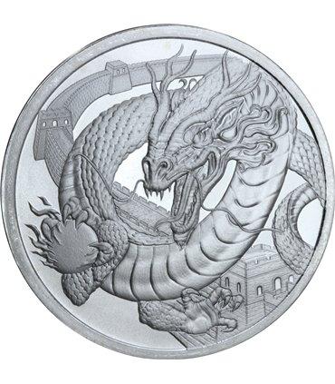 Золотая монета Гельвеция 20 франков 1914 Швейцария