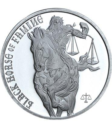 """Серебряная монета """"90 лет со дня рождения Луитпольда Баварского"""" 2 марки 1911 Германская империя"""