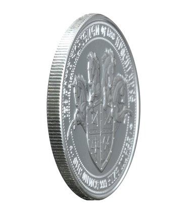 """Срібна монета """"Коронація Вільгельма I и королеви Августи"""" 1 союзний талер 1861 Прусія"""