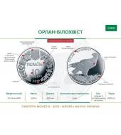 Монета 100 лет ВМФ Украины 10 гривен Украина 2018