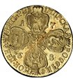 Серебряная монета 1 Союзный Талер 1860 Липпе