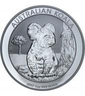 Срібна монета 1oz Коала 1 долар 2017 Австралія