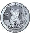 Серебряная монета 1oz Коала 1 доллар 2017 Австралия