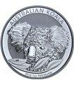 Серебряная монета 1oz Коала 1 доллар 2014 Австралия