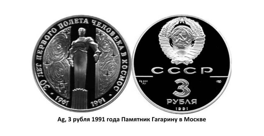 Срібні монети СРСР