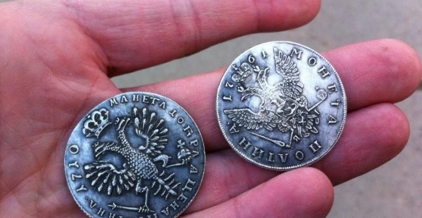 Подделки монет