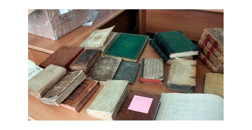 Антикварные печатные издания, газеты