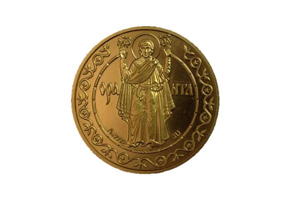 """Юбилейные монеты """"Оранта"""" 1997 года чекана"""