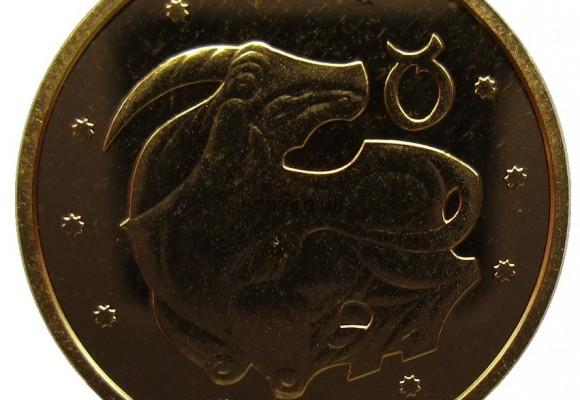 "Монета ""Телец"" номиналом 2грн 2006 года чеканки: золото или серебро"
