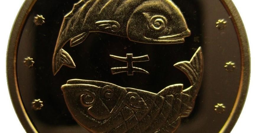 """Коллекционная ценность монеты """"Рыбы"""" номиналом 2грн 2007 года чеканки"""