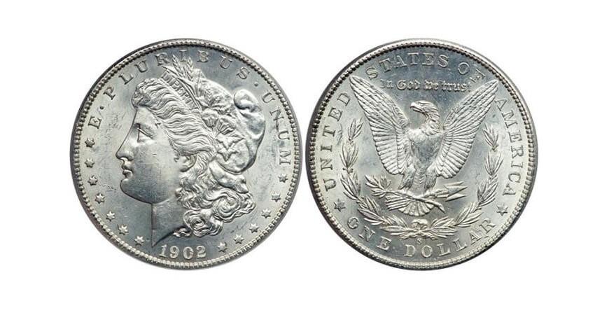 Монета 1 долар США