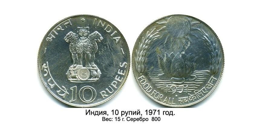 Монеты Азии